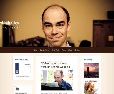Richard Whalley Website