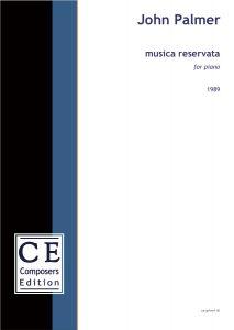 John Palmer Musica Rreservata