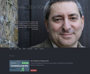 Michael Zev Gordon website