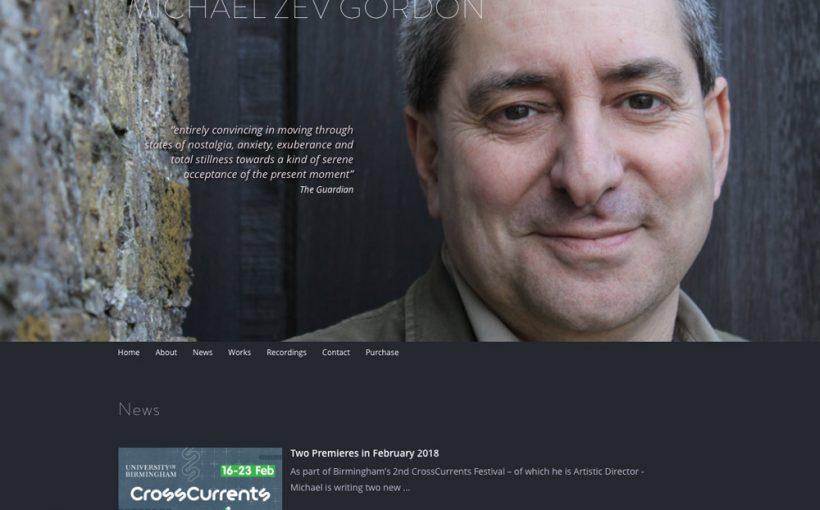 Michael Zev Gordon website