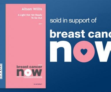 Alison Willis' A Light Not Yet Ready To Go Out sold in support of Breast Cancer Now