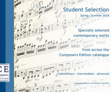 Composers Edition Student Selection