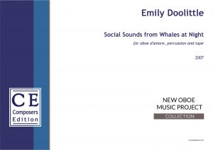Emily Doolittle Social Sounds from Whales at Night