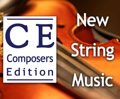 new string music from composers edition