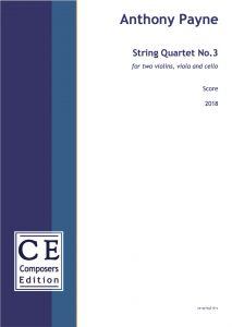 Anthony Payne String Quartet No.3