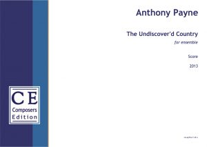 Anthony Payne The Undiscover'd Country for ensemble