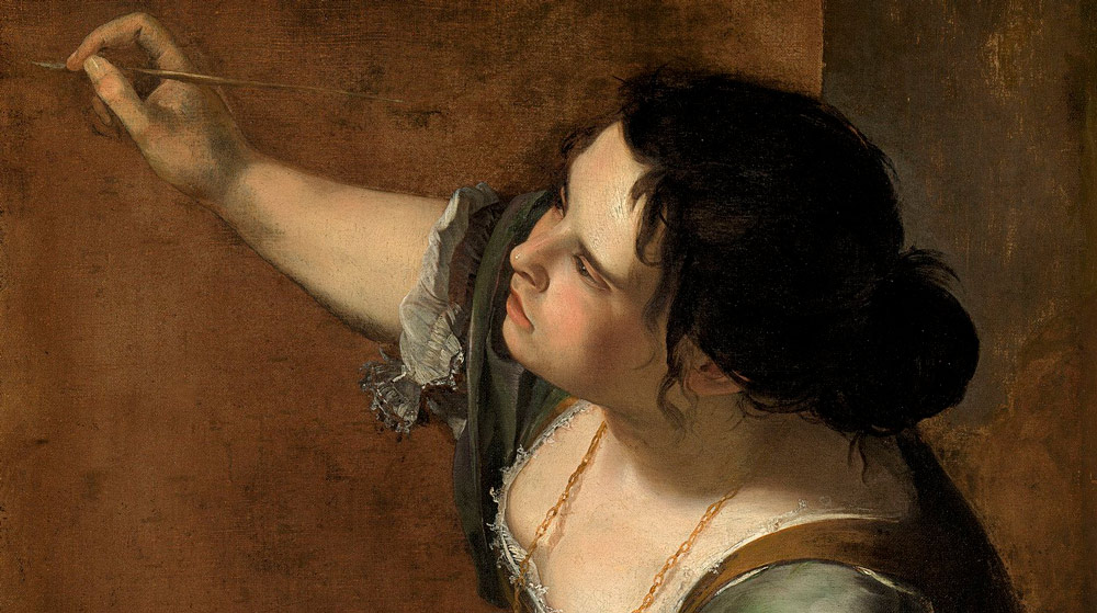 Self-Portrait as an Allegory of Art by Artemisia Gentileschi