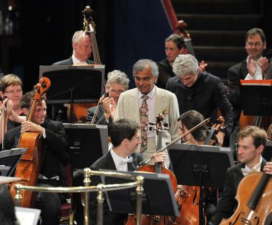 Naresh Sohal at Proms 2013 Performance of The Cosmic Dance